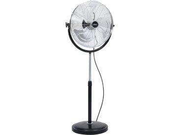 Ventilateur sur pied avec tête inclinable 3 vitesses 45 cm 100W - vidaXL