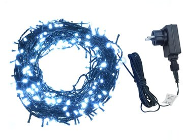 Guirlande lumineuse 600 LED Intérieur et extérieur 60 m Blanc   - vidaXL