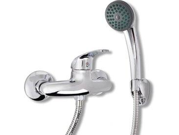 Kit de robinet de douche Chrome - vidaXL