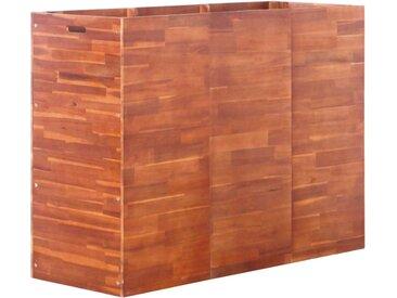 Lit surélevé de jardin Bois d'acacia 150x50x100 cm - vidaXL