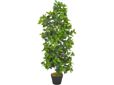 Plante artificielle avec pot Laurier Vert 120 cm - vidaXL
