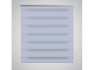 Store enrouleur tamisant 120 x 175 cm blanc - vidaXL