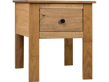 Table de chevet 46x40x57 cm Pin Assortiment Panama - vidaXL