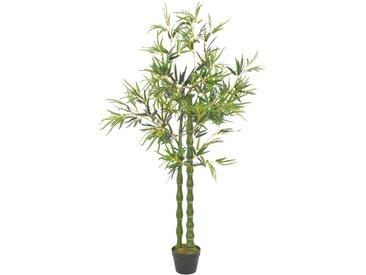 Plante artificielle avec pot Bambou Vert 160 cm - vidaXL