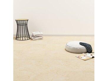 Planche de plancher PVC autoadhésif 5,11 m² Beige - vidaXL