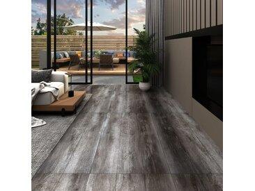Planches de plancher PVC 4,46 m² 3 mm Autoadhésif Bois rayé - vidaXL