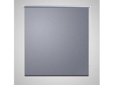 Store enrouleur occultant 100 x 230 cm gris - vidaXL