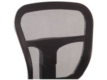 Chaise de bureau Noir - HISPA - L 47 x l 41 x H 81 / 96 - vidaXL