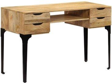 Table à écrire Bois de manguier massif 120 x 50 x 76 cm - vidaXL