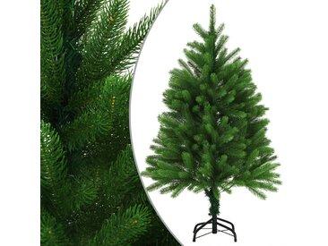 Arbre de Noël artificiel Aiguilles réalistes 120 cm Vert - vidaXL