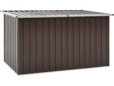 Boîte de rangement de jardin Marron 171x99x93 cm - vidaXL