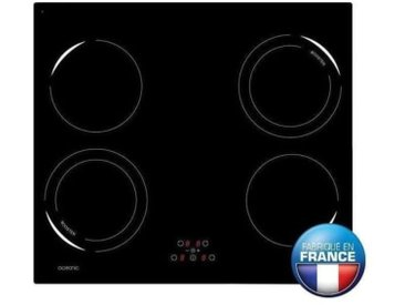 OCEANIC OCEATI4Z2B Table de cuisson a induction-4 zones-6500W-L59xP52c - vidaXL