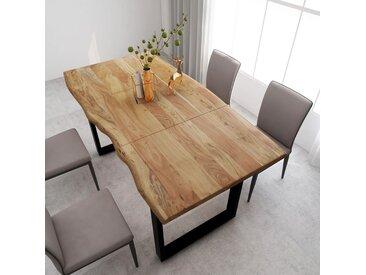 Table de salle à manger 180x90x76 cm Bois d'acacia massif - vidaXL