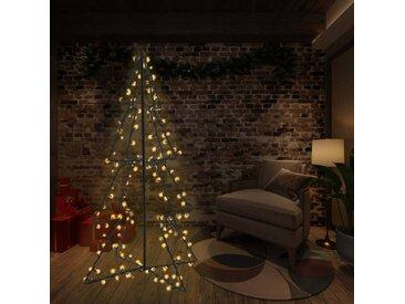 Arbre de Noël cône 240 LED d'intérieur/d'extérieur 115x150 cm - vidaXL