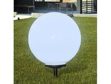 Boule solaire extérieure de jardin 50cm 1 pc avec piquet de sol  - vidaXL