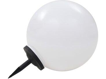 Lampe LED solaire d'extérieur sphérique 50 cm RVB - vidaXL