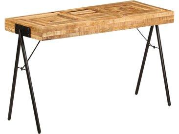 Table à écrire Bois de manguier massif 118 x 50 x 75 cm - vidaXL