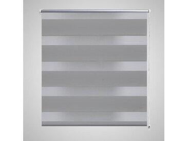 Store enrouleur tamisant 120 x 230 cm gris - vidaXL