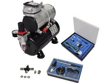 Kit de compresseur professionnel avec 2 pistolets - vidaXL