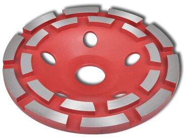 Disque de broyage diamanté à double ligne 180 mm - vidaXL
