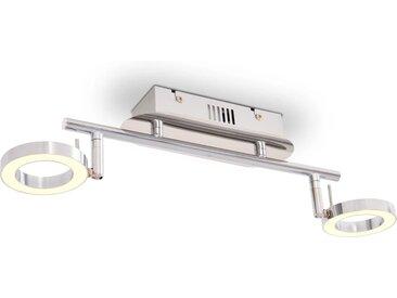 Plafonnier / Lampe murale LED avec 2 lampes Blanc chaud - vidaXL