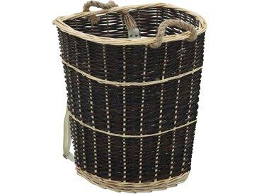 Sac à dos bois de chauffage sangles de transport 57x51x69 cm - vidaXL