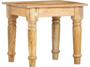 Table d'appoint 43 x 43 x 40 cm Bois de manguier massif - vidaXL