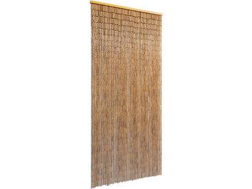 Rideau de porte Bambou 90 x 200 cm - vidaXL
