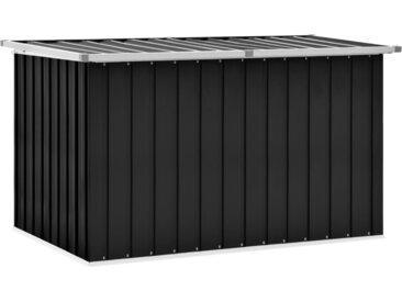 Boîte de rangement de jardin Anthracite 149x99x93 cm - vidaXL