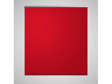 Store enrouleur occultant 160 x 175 cm rouge - vidaXL