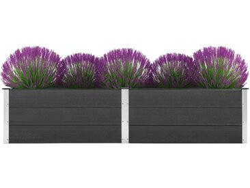 Jardinière 250 x 50 x 54 cm WPC Gris - vidaXL