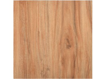 Planches de plancher autoadhésives 5,11 m² PVC Bois clair - vidaXL