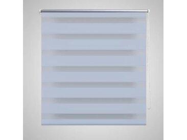 Store enrouleur tamisant 120 x 230 cm blanc - vidaXL