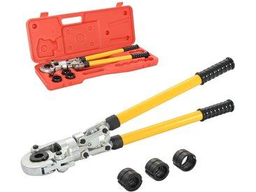 Pince à sertir hydraulique Forme de V 16-20-26-32 mm - vidaXL