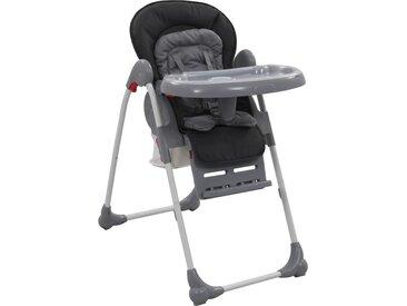 Chaise haute pour bébé Gris  - vidaXL