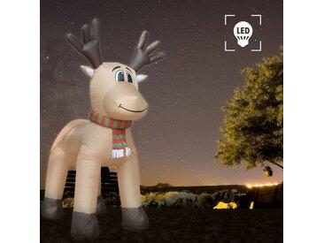 Renne de Noël gonflable LED IP44 500 cm XXL - vidaXL