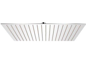 Tête de douche plongeante carrée en acier inoxydable 50x50 cm - vidaXL