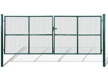 Portillon Maille 415 x 200 cm / 400 x 150 cm  - vidaXL
