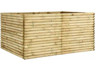 Lit surélevé de jardin 206x150x96 cm Bois de pin imprégné  - vidaXL