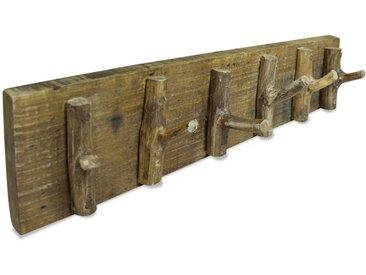 Porte-manteau Bois de récupération massif 60 x 15 cm - vidaXL