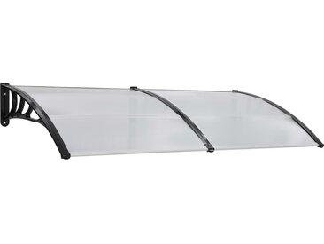 Auvent de porte Blanc 200 x 100 cm PC - vidaXL
