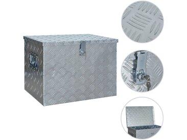 Boîte en aluminium 610x430x455 mm Argenté - vidaXL