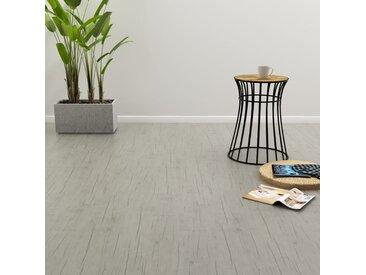 Planches de plancher autoadhésives 4,46 m² PVC Chêne délavé - vidaXL