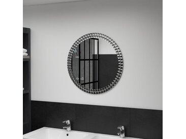 Miroir mural 60 cm Verre trempé - vidaXL