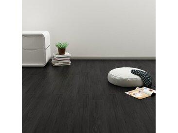 Planches de plancher autoadhésives 3,51 m² PVC Chêne Anthracite - vidaXL