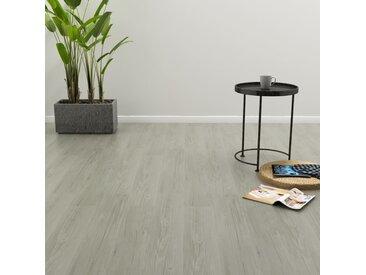 Planches de plancher autoadhésives 3,51 m² PVC Gris - vidaXL