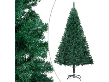 Arbre de Noël artificiel avec branches épaisses Vert 150 cm PVC - vidaXL