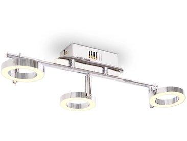 Plafonnier / Lampe murale LED avec 3 lampes Blanc chaud - vidaXL