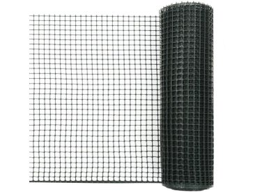 Maille de clôture de jardin PEHD 10x0,6 m Vert - vidaXL