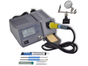 Station numérique de soudage 48 W avec accessoires - vidaXL
